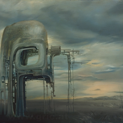 The Bio Mechanical Landscapes of Peter Gric