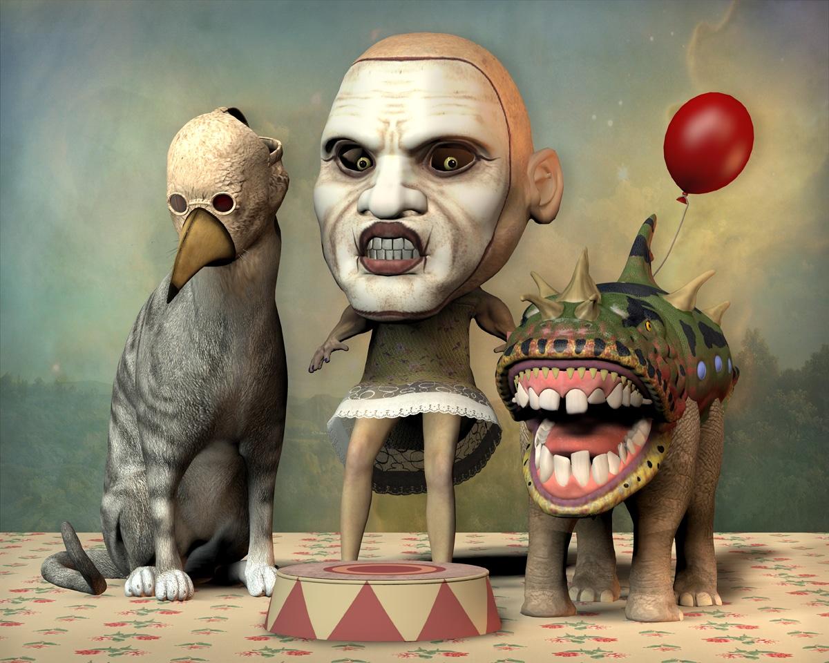 Mind Games: The Cerebral Art of Don Bergland
